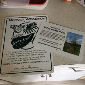 pocket prairie signs